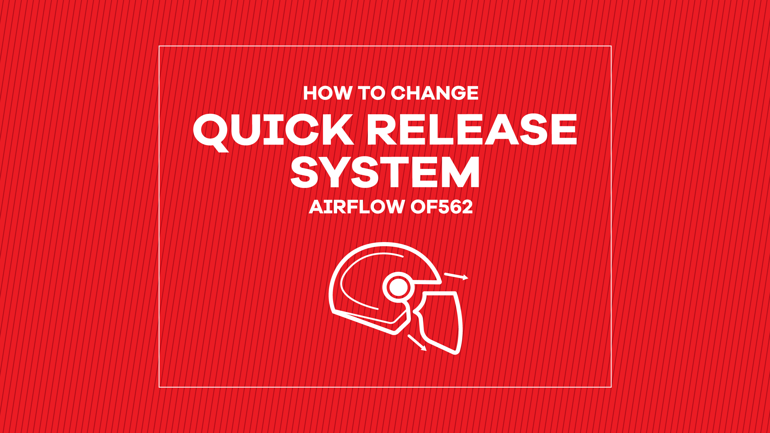 AIRFLOW QUICK RELEASE SYSTEM