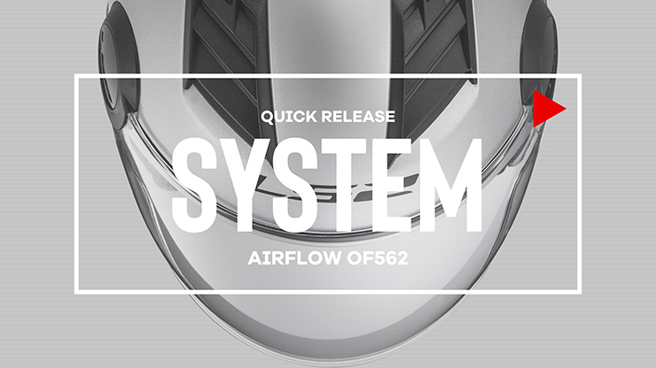 NEW AIRFLOW QUICK RELEASE SYSTEM