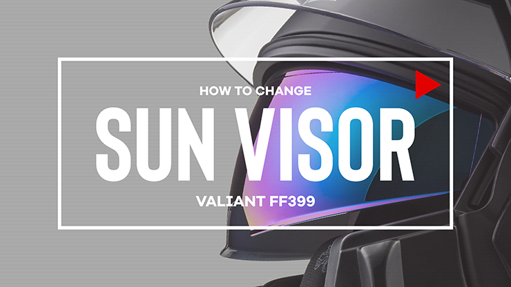NEW VALIANT SUN VISOR