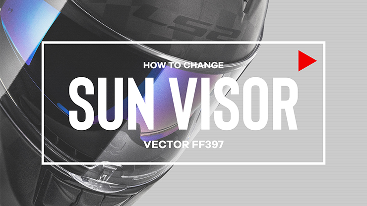 NEW VECTOR SUN VISOR